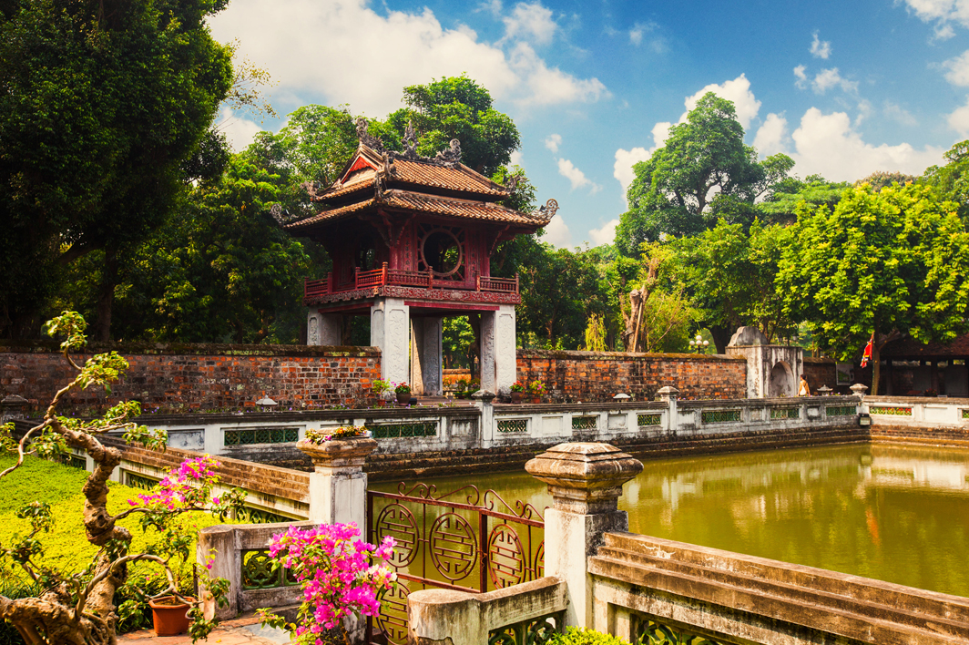 Van Mieu - literature temple