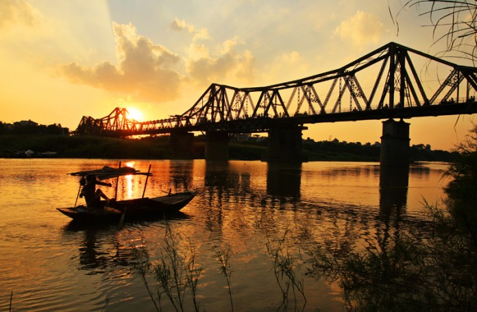 Long Bien Bridge Hanoi