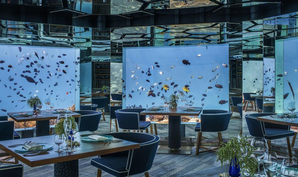 Anantara Kihavah Villas Resort Maldive - underwater restaurant