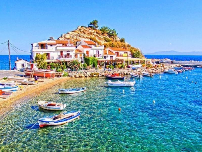Plaja Kusadasi Turcia