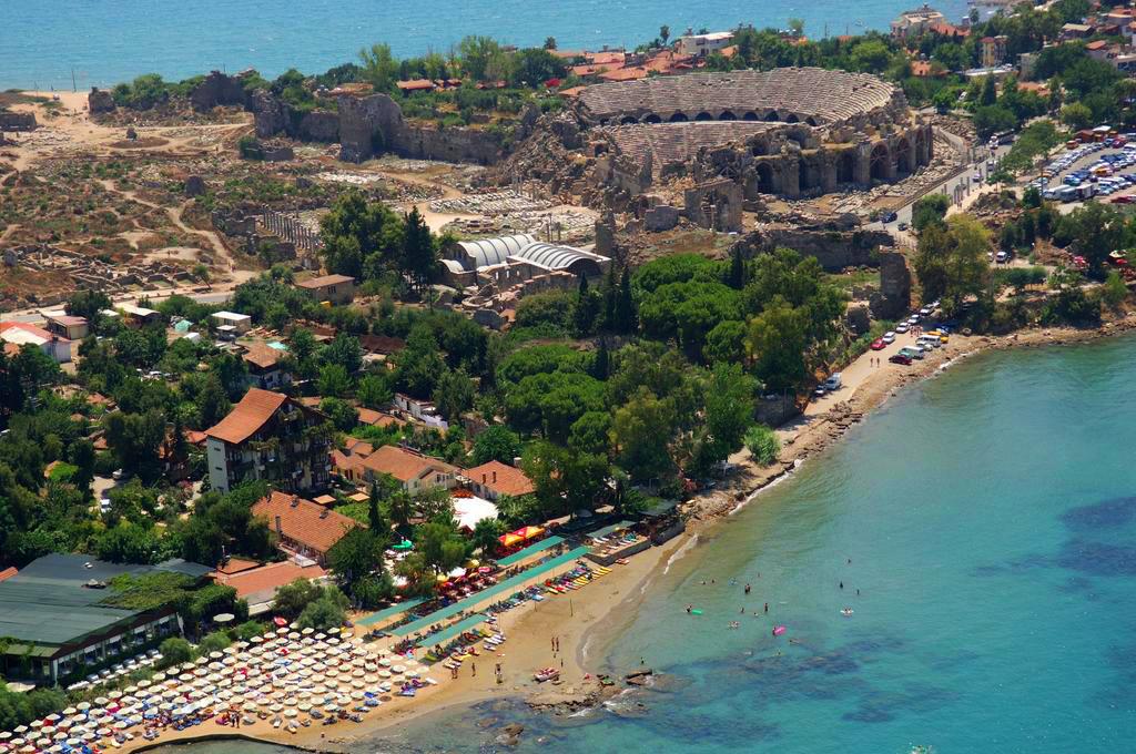 Plaja Side Turcia